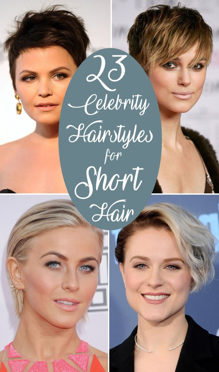 12 Best Celebrity Hairstyles for Short Hair